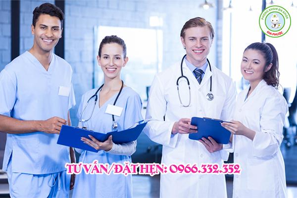 Đội ngũ bác sĩ chuyên khoa nhiều năm kinh nghiệm